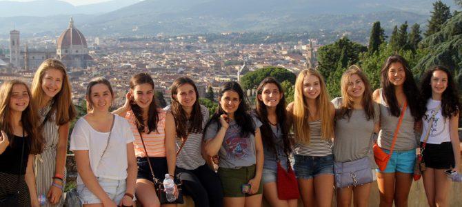Езиков лагер във Флоренция – Италия